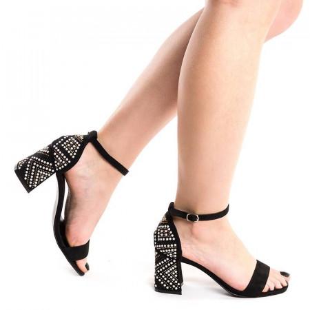 Sandale cu toc gros chic Martina