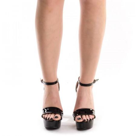 Sandale cu toc si platforma elegante Dona