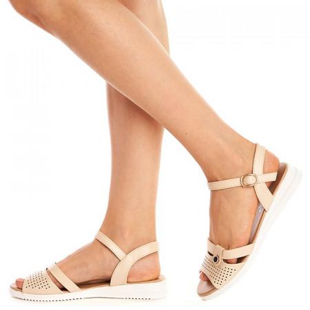 Sandale lejere Camelia bej