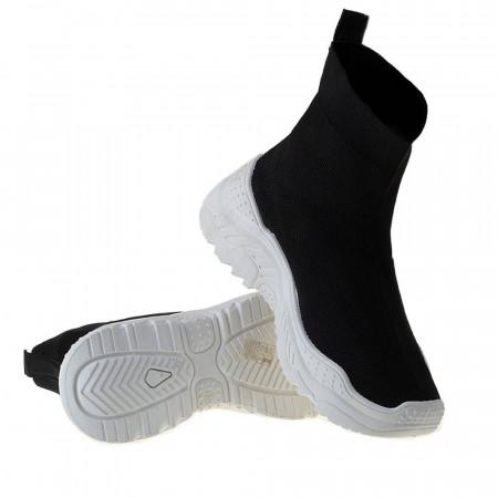 Sneaker trendy din textil elastic Andra