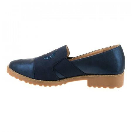 Mocasini chic la moda Coco blu