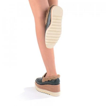 Pantofi casual cu blana Gia