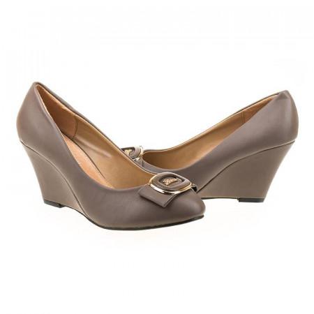 Pantofi chic cu platforma Bianca