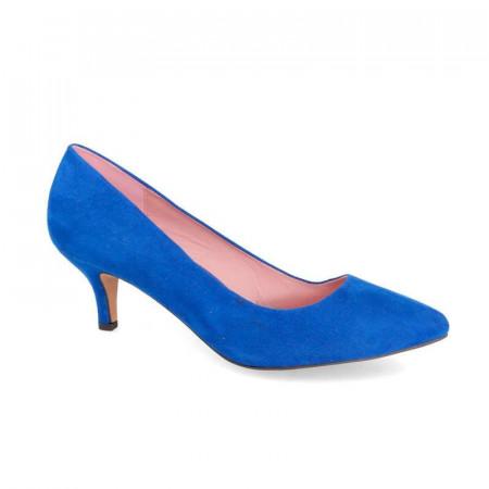 Pantofi Dama, Toc mic, Albastru