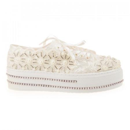 Pantofi de mireasa cu poseta inclusa Adria