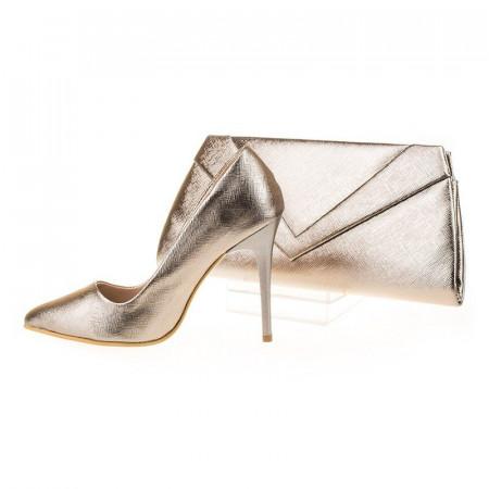 Pantofi de ocazie cu poseta inclusa Anette