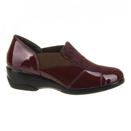 Pantofi office confortabil din piele naturala italia Bonita