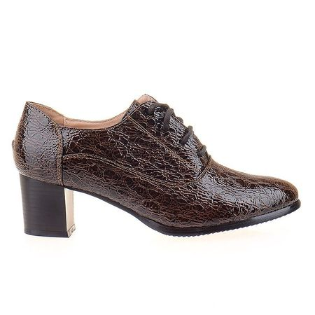 Pantofi office cu siret Adria