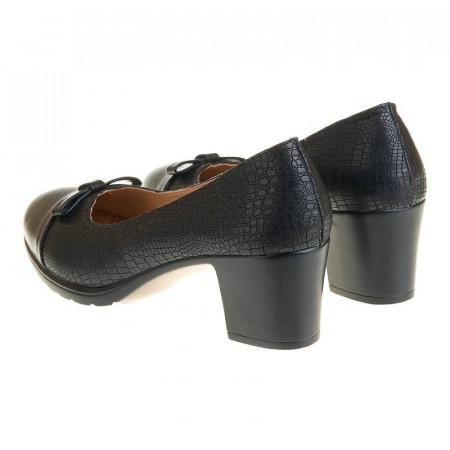 Pantofi office cu toc mic confortabil Layla