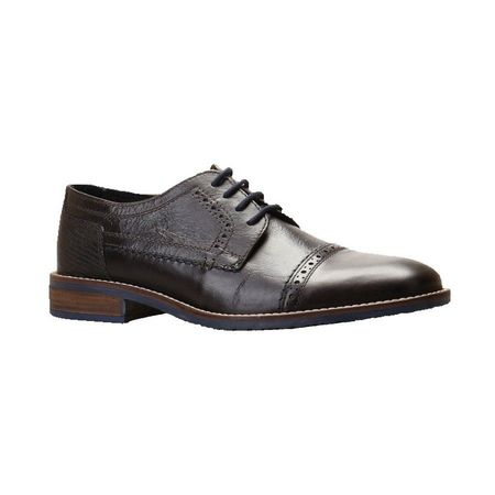 Pantofi office din piele naturala italiana Simeone
