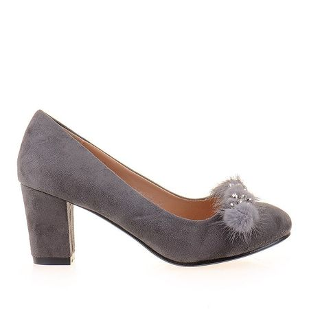 Pantofi office din velur Anita