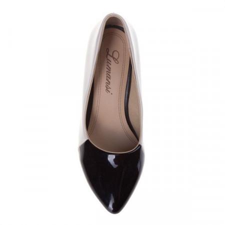 Pantofi stiletto din lac Benedicta