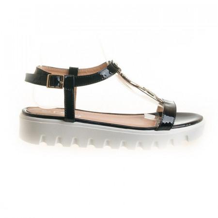 Sandale cu talpa joasa Cami blk