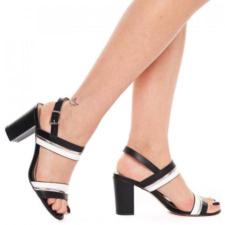 Sandale cu toc gros elegante Samantha