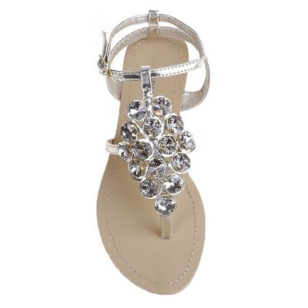 Sandale Georgina aurii