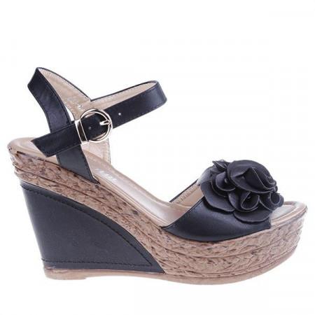 Sandale Grazia negre