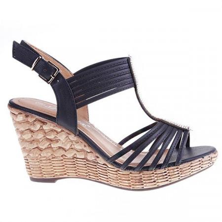 Sandale Lines negru