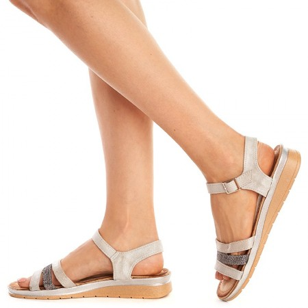 Sandale usoare cu talpa joasa Mira