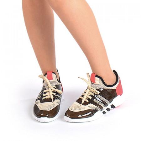Sneakers stil adidas bej Bianca