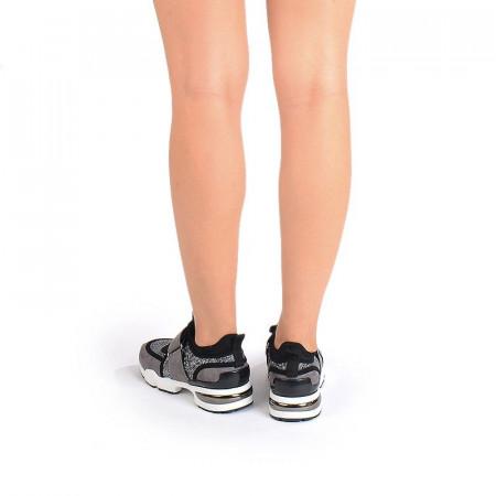 Sneakers stil dolce&gabbana gri Bella