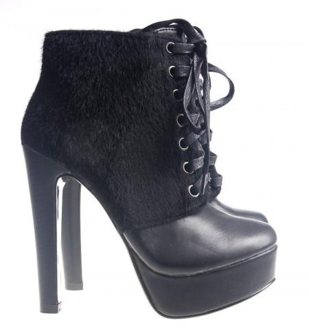 Botine dama black Style