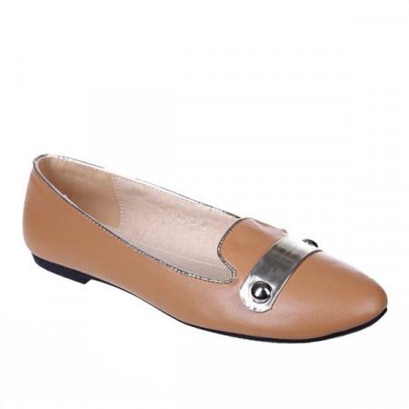 Pantofi camel Daisy