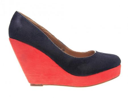 Pantofi cu platforma Coral