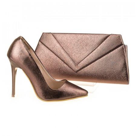 Pantofi de ocazie cu poseta inclusa Arianna