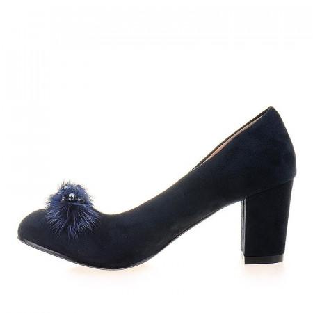Pantofi office cu blana Anita