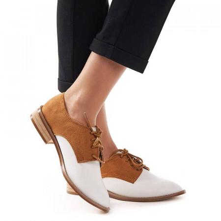 Pantofi office cu interior din piele naturala Amelia