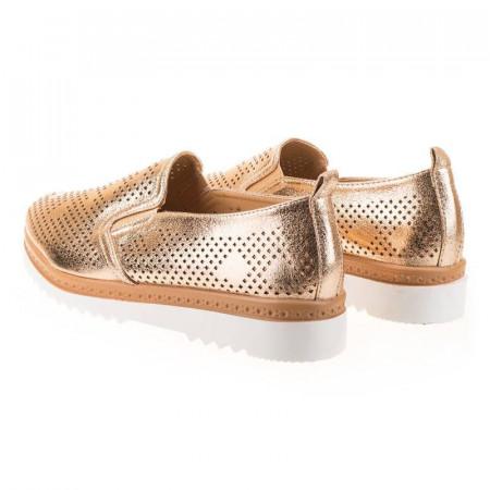 Pantofi sport chic Antonia aurii