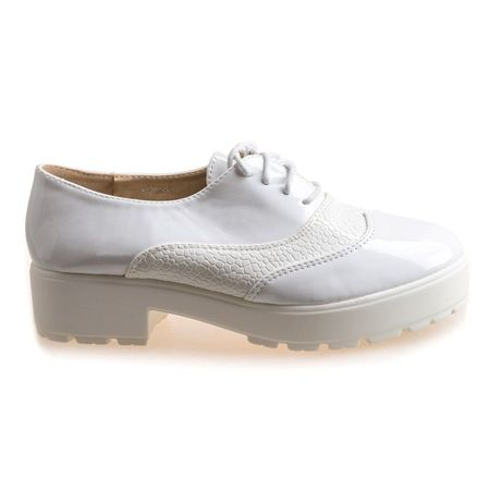 Pantofi sport cu siret Amalia wht