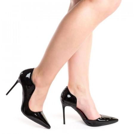 Pantofi stiletto cu toc subtire Alberta