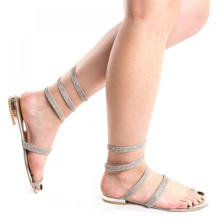 Sandale cu talpa joasa chic Amira