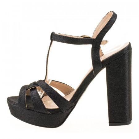 Sandale cu toc chic Eva