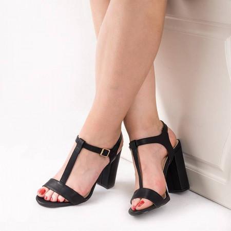 Sandale cu toc gros chic Alma