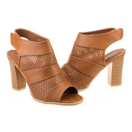 Sandale cu toc la moda Teresa