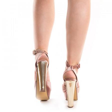 Sandale cu toc si platforma elegante Mia