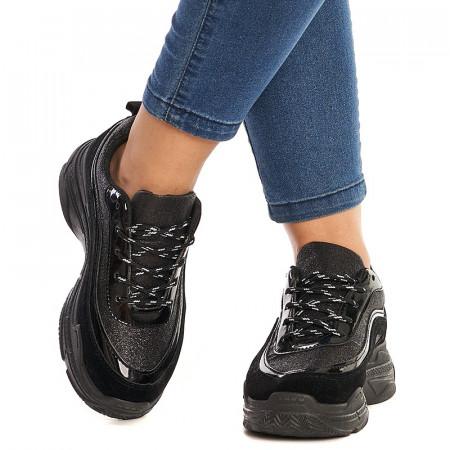 Sneakers Bonnie negru