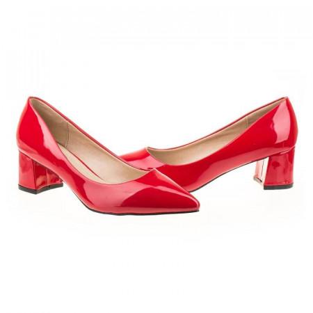 Pantofi office chic Antonia rosu
