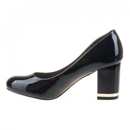 Pantofi office chic Tania albastru inchis