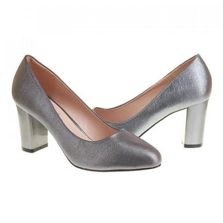 Pantofi office cu toc mediu Layla bronze