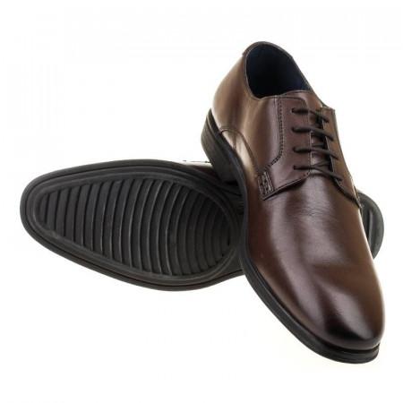 Pantofi office din piele naturala italiana Edmondo