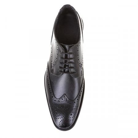 Pantofi oxford din piele naturala Bravo