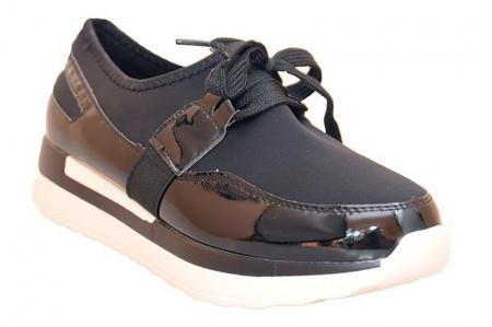 Pantofi sport la moda Celia blk