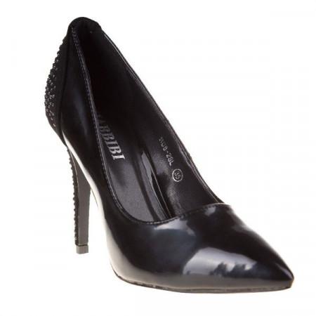 Pantofi Stiletto din lac Zita