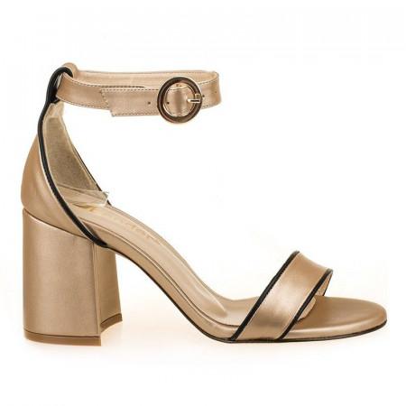 Sandale la moda cu toc Salma