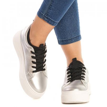 Sneakers Martina argintiu