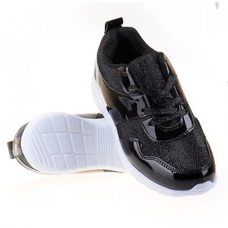 Sneakers trendy Bianca blk