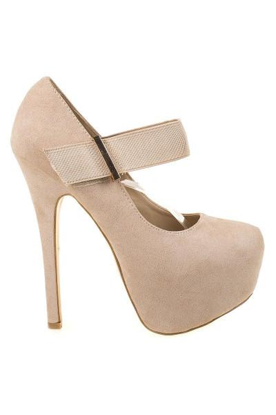 Pantofi cu platforma Gilda be